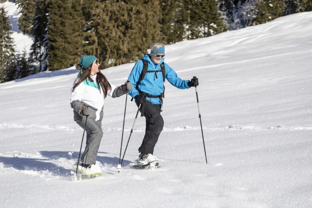Schneeschuhwandern Schneeschuhe Wildschönau