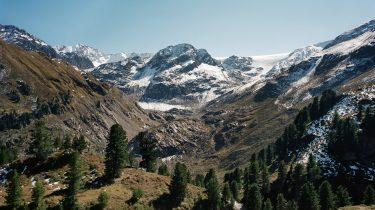 Le glacier de Kaunertaler Gletscher