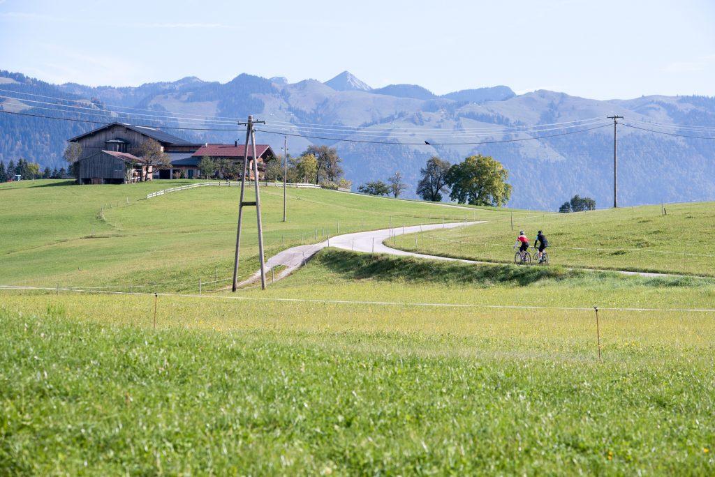 Faire du vélo dans l'Alpbachtal