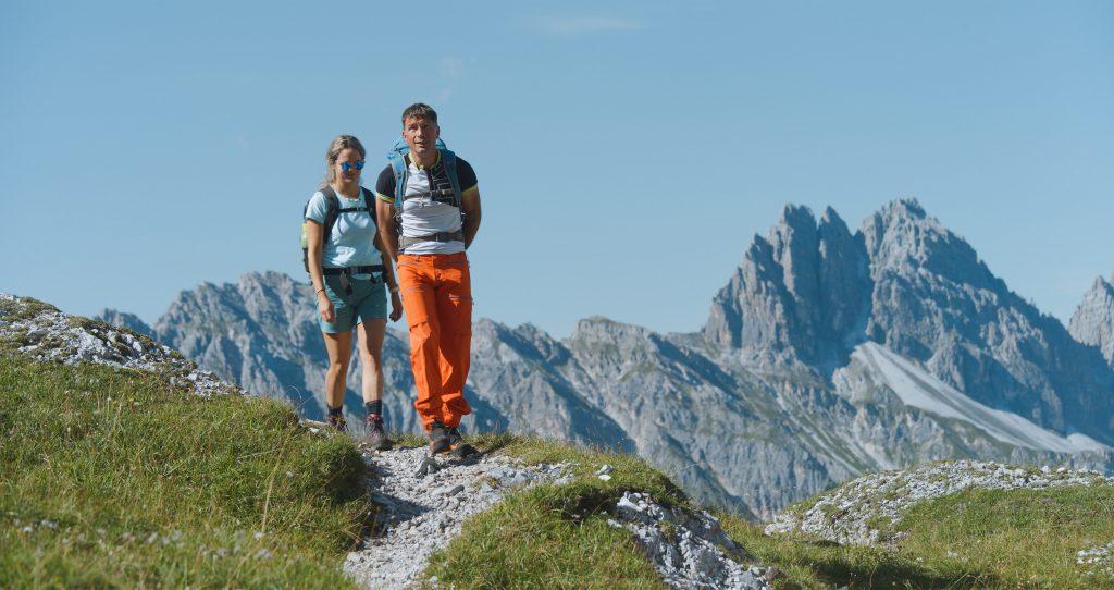 Bergtour am Grenzkamm