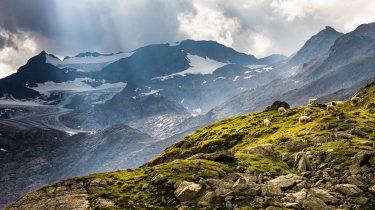 Grenzgebirge am Brenner